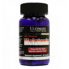 Ultimate Nutrition Melatonin 3 mg (60 кап)